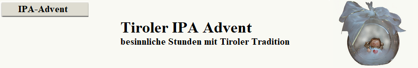 Tiroler IPA Advent